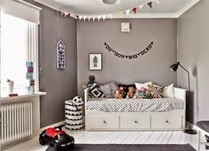 The Boo And The Boy: Eclectic Kidsu0027 Rooms Ikea Hemnes Bed For Kids Lulu Room