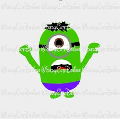 Minion Hulk SVG, Studio3, EPS, PNG Digital File – Wickedly Cute Designs