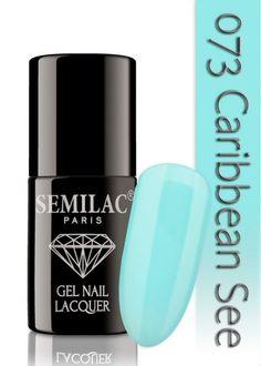 Semilac 073 Caribbean See UV&LED Nagellack. Auch ohne Nagelstudio bis zu 3 WOCHEN perfekte Nägel!