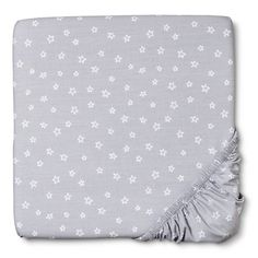 Circo® Woven Fitted Crib Sheet Floating on Air