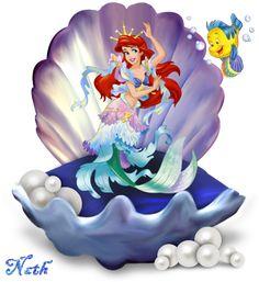 Anime Mermaid, Mermaid Disney, Cute Mermaid, Ariel The Little Mermaid, Mermaid Art, Princesa Ariel Da Disney, Disney Princess Ariel, Disney Princess Pictures, Little Mermaid Wallpaper
