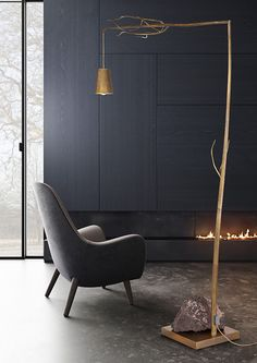 Modern floor lamp from contemporry lighting collection by brand van egmond for exclusive interior designs and luxury homes.All our collections can be customised to fit your interior design project or we design exclusive for you. Modern Dining Room Lighting, Modern Floor Lamps, Interior Lighting, Luxury Interior, Interior Design, Design Projects, Flooring, Contemporary, Home Decor