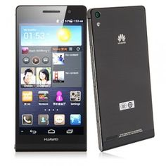 Huawei Ascend P6 4.7 Inch HD Display Android 4.2 Quad Core 1.5GHz SmartPhone - Android Phones
