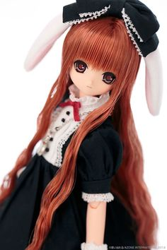 Azone Classic Alice Tick Tock Rabbit Dressed Doll - Himeno Osumashi Mouth NIB Straight from Japan and hard to find....now sold out! Don't wait forever for your doll to come from Japan and pay huge tax