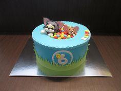Tom & Jerry Cake - Cake by sansil