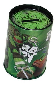 The TMNT are trained to protect, so let them keep your coins safe and secure with this amazing coin bank!  Benefits ♦ Looks great and long lasting ♦ Large enough to hold all your valuable coins ♦ Can help your little one learn the value of saving ♦ Can help to teach your little one how to count using coins ♦ Guaranteed to be a hit with all TMNT fans and collectors ♦ The perfect bank to protect your precious coins. www.toys4tikes.com