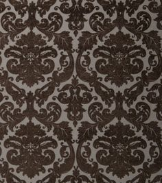 Home Decor Print Fabric-Eaton Square Crossway Chocolate
