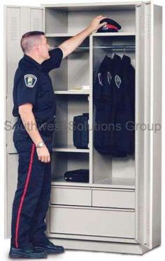 Our Personal Storage Lockers and Law Enforcement Gear Lockers will suit the uniform, clothing, and personal effects storage needs your law enforcement. Police Gear Stand, Law Enforcement Gear, Radios, Police Officer Wife, Leo Wife, Personal Storage, Police Life, Duty Gear, Video Game Rooms