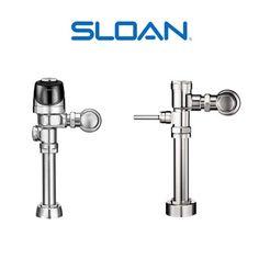 ¿No sabes lo que es un fluxómetro? Mira estos modelos de la prestigiosa marca estadounidense SLOAN, especializada en grifería para uso doméstico e institucional.