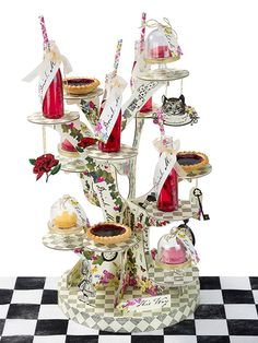 Party Ark's 'Alice in Wonderland Cake Stand'