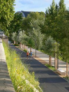 Separated Paths— Les berges du Rhône