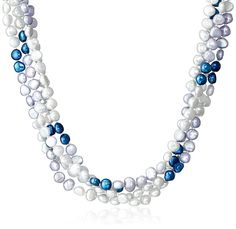6-7mm Baroque Freshwater Cultured Pearl Endless Necklace, 100' *** Click on the image for additional details.