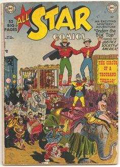 All Star Comics 54 golden age comic