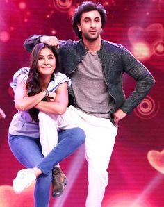 Ranbir Kapoor and Katrina Kaif promoted their upcoming film Jagga Jasoos on the sets of Sa Re Ga Ma Pa Lil Champs 2017