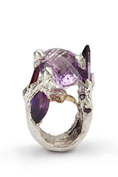 Internationally renowned contemporary jewellery designer, maker and artist