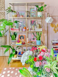 Warm Colour Palette, Warm Colors, Bright Colours, Rental House Decorating, Bookshelf Styling, Beautiful Curtains, Rental Property, New Room, Cool Rugs