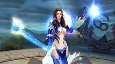 Dark Era ist ein neues Browser-Rollenspiel von der Spielefirma Game321. Hier sieht man eine leicht begkleidete Fantasy-Magierin. Mehr Infos zu Dark Era kann man auf http://mmosurfer.com/dark-era/ finden.