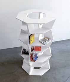 Zig Zag Bookcase Room Divider – Vurni