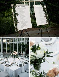 Jewish Greek Wedding at Brooklyn Botanical Garden New York | Flowers | Design by We Create & Co