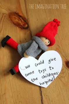 Oh my goodness, I love this and think it would be perfect to do every month throughout the year! Kindness Elves // Alternative to Elf on the Shelf #tradition #kind