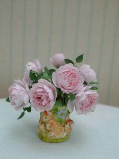 Pascale Garnier miniature garden roses