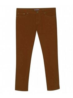 Five Pocket Rust Colored Jeans $42