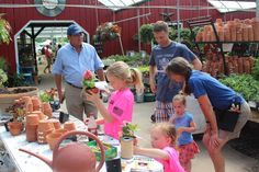 Mother's Day at The Barn Nursery, Chattanooga!   It's an opportunity to plant a flower for Mom.