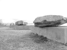 Michael Heizer, Adjacent, Against, Upon, 1976