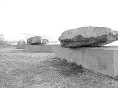 Michael Heizer, Adjacent, Against, Upon, 1976