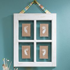 super cute idea and you can put whatever in the little frames!