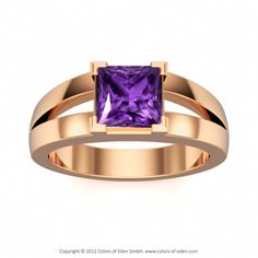 Rose Gold Engagement Ring #rose #gold #ring