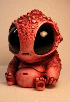 Adorable, chubby, little monster Bubblegut by Chris Ryniak
