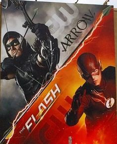 Flash and Green Arrow Flash Crossover, Dc Comics Series, Flash Wallpaper, Arrow Tv Series, Superhero Shows, The Flash Grant Gustin, Cw Dc, Dc Tv Shows, Arrow Oliver
