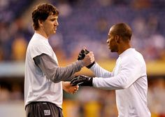 My 2 fav players Eli Manning and Victor Cruz !  But I love Eli more