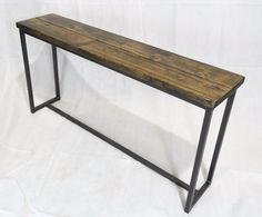 Revolution Console Table / Bench