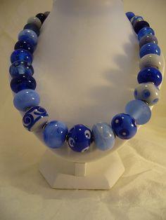 86 Collier Flonche bleu | Flickr: partage de photos!