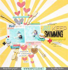 Just Keep Swimming | Ashley Horton