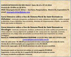 AGNES´ NATUTERAPIAS - Referência em Cursos e Atendimentos: Cursos Intensivos do Uso de Florais de Saint Germa...