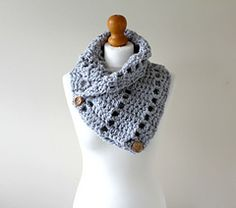 Ravelry: Holey Cowl pattern by Pale Rose Crochet