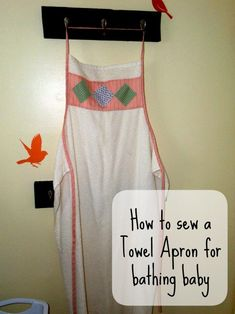 Pattern for Baby Towel Apron