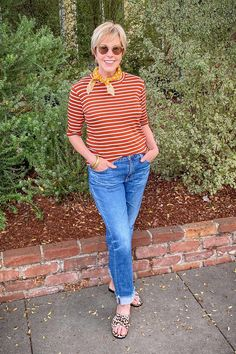 une femme d'un certain age | A Fall Outfit For Warmer Days