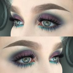 Too much brow for me, but the colors are nice