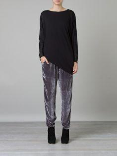 Calça de veludo cinza ::: Gray velvet trousers ::: #UMAOutonoInverno14