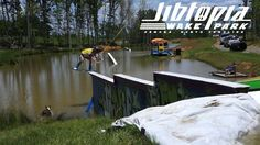 2 years ago we set out to build the most fun, progressive and unique wake park we could. This video showcases our three System 2.0s and fifteen features. This is Jibtopia Wake Park! Featuring riders: Alex Hamrick  Clark Davis  www.jibtopiawakepark.com
