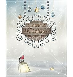 Christmas sign vector - by aviany on VectorStock®