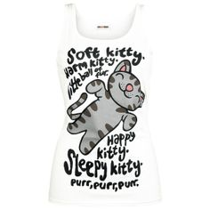 Soft Kitty Song Tank