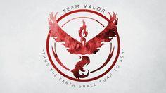 Download Team Valor Logo Pokemon Go Wallpaper