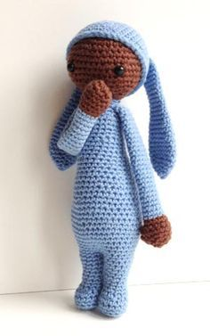 Lalylala like amigurumi doll crochet pattern - Free