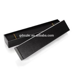Check out this product on Alibaba.com App:Elegant custom long black cardboard paper made watch box https://m.alibaba.com/Yj6FBv