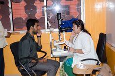 Eye Testing Camp at VeeTechnologies 2015